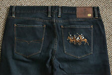 "RALPH LAUREN DELANCEY JEANS  STRETCH FLARED VERY RARE ! UK 16 L32"" 0518"