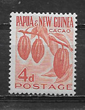 PAPUA & NEW GUINEA , 1958/60 , 4p  STAMP ,  PERF, MNH