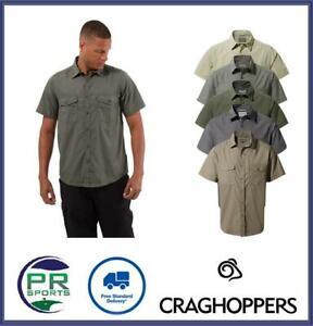 Brand New 2021 Craghoppers Mens Kiwi Short Sleeve Walking Hiking Shirt