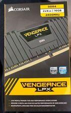 16 GB 2X8 GB DDR4 2400 MHz LPX Corsair Vengeance NERO