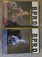 B.p.r.d. Plague Of Frogs vol. 1 & 2 hardcovers