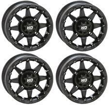 4 ATV/UTV Wheels Set 14in STI HD5 Beadlock Matte Black 4/156 5+2 1KXP