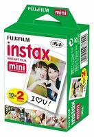 Fujifilm instax mini instant film For Fuji 8 & 9 Camera (20 prints)