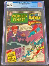 World's Finest Comics #160 CGC 6.5 1966 Batman First Appearance Dr. Zodiac A183
