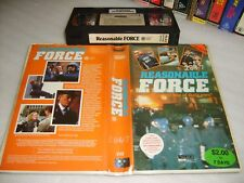 VHS *REASONABLE FORCE* Australian Palace Entertainment - Obscure Drama Thriller?