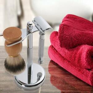 Men Shaving Brush Mug Cup Stand Shave Safety Razor Holder Rack Bowl Tool Set CH