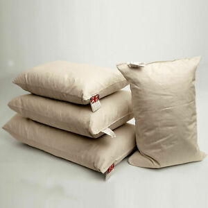 Customised Rectangular Oblong Boudoir Duck Feather Cushion Pads Inserts Fillers