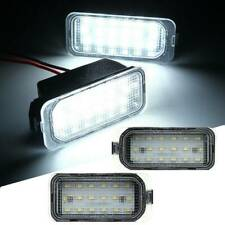 2X LED Licence Number Plate Light For Ford S-Max Focus Kuga FIESTA Jaguar XF XJ