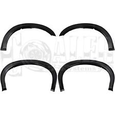 4 PCS Ford 1999 - 2007 F250 F350 Super Duty Smooth Style Fender Flares Black