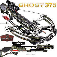 2017 Barnett Ghost 375 Compound Crossbow Package 4x32 Scope Quiver Arrows 78100