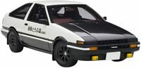 Toyota Sprinter Trueno AE86 AUTOart Initial D project D Final ver model Car
