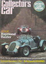 Collector's Car 05/1981 featuring AC 428, Ferrari, Triumph TR2, Jaguar, Alvis