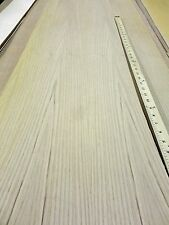 """White Oak Quarter wood veneer 12"""" x 96"""" with 2 ply wood backing (1/25th"""" total)"""