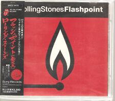 "ROLLING STONES ""Flashpoint"" Japan Sample Promo CD + Obi Rare"