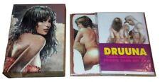 Serpieri Druuna Set Completo 47 Cards y + Promo Uncensored Cards