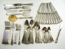 Emile Puiforcat - 64 piezas conjunto de 950 cubiertos de plata-Fer De Lance/Gótico