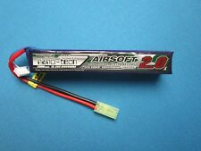TURNIGY NANO TECH 2000mAh 3S 11.1V 15-25C LIPO BATTERY AIRSOFT MINI TAMIYA MOLEX
