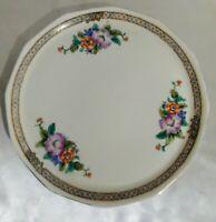 Vintage Noritake Hand Painted Japan Round 11 inch Plate.