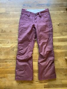 Women's Patagonia Insulated Snowbelle Pants -  H2no - Small - Balsamic- EUC