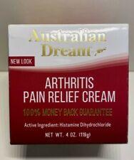NEW!! Australian Dream Arthritis Pain Relief Cream Jar 4 oz Carpel Tunnel