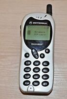 Old  mobile phone Motorola. Working
