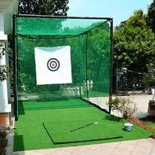 HLC Professional Metal Golf Cage 3 x 3 x 3m Golf Club Practice Net Shot Training