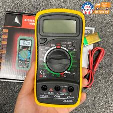 Digital Voltmeter Ammeter Ohmmeter Multimeter Volt Ac Dc Tester Meter Us Seller