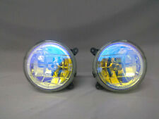 Pair Subaru Impreza GDB GDA Multi Color Bumper Rainbow Fog Lights lamp GC8 GF