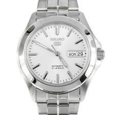 Seiko 5 Automatic Men's SNKK87  Stainless Steel Analog with White Dial Watch