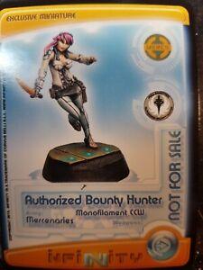 Infinity Mercenary NA2 Very Rare Authorized Bounty Hunter