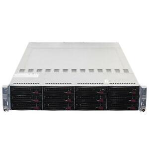 SuperMicro 6026TT-HIBQRF 2U 4-Node X8DTT-HIBQF+ 8x XEON LGA1366 CTO Server