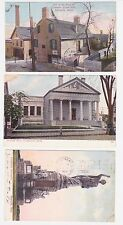 Antique Post Card Lot of 3 Mass.