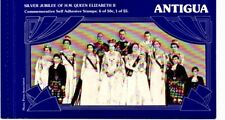 Antigua 1977 Silver Jubilee Booklet.