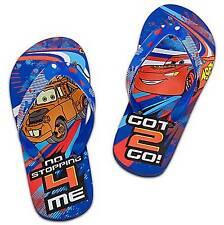 Disney Cars Lightning McQueen Mater Flip Flop Size 9/10 SOLD OUT