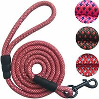 Nylon Dog Leash Durable and Thick Nylon Rope 5 or 6ft for Cats Medium Large Dog
