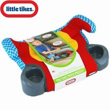 Little Tikes Backless Car Vehicle Travel Cushion Booster Seat With Cup Holders