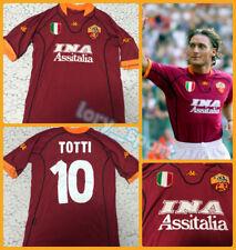Maglia Shirt Trikot Camiseta As Roma kappa Totti 2001/02 ORIGINALE post scudetto
