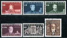 LIECHTENSTEIN 1940 186-191 gestempelt SATZ 250€(A9257