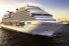 Carnival Cruise Ship Vista POSTER 24 X 36 Inches Looks beautiful