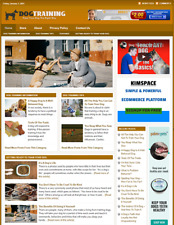 Dog Training Website Business For Sale Work From Home Online Business