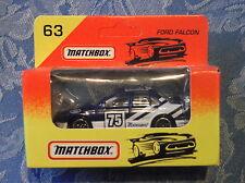 Matchbox Ford Falcon #63 - Blue/White 75