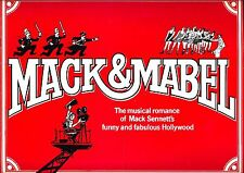 "Bernadette Peters ""MACK & MABEL"" Robert Preston / Jerry Herman 1974 Program"