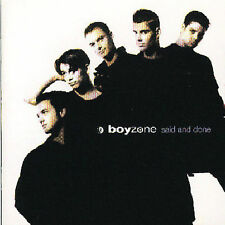 Boyzone - Said And Done - Polydor - 527 801.2 1995 by Boyzon - Disc Only No Case