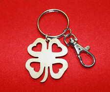 Irish Shamrock Keyring Ireland  Eire Gaelic Key Ring St Patricks Day Gift - Fob