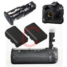 Grip for Canon BG-E9 EOS 60D 60DA + 2 Decoded LP-E6 BATTERY