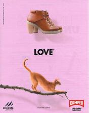 PUBLICITE ADVERTISING  2012  CAMPER  chaussures