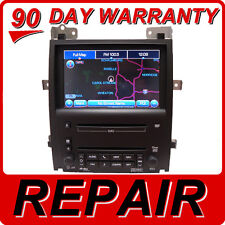 REPAIR SERVICE CADILLAC Escalade STS NAVIGATION UNIT CD SUPERNAV GPS 6 DISC DVD