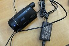 Sony FDRAX53 4K Ultra HD Handycam Camcorder for Parts & Repair Only