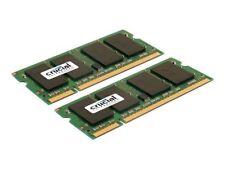 Crucial CT2KIT25664AC800 (4GB, PC2-6400 (DDR2-800), DDR2 SDRAM, 800 MHz, SO DIMM 200-pol.) RAM Module