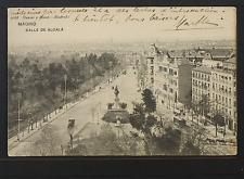 2459.-MADRID -2088 Calle de Alcalá (1907) (enviada a Lyon)